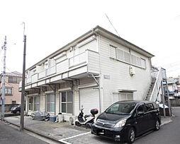 神奈川県横浜市磯子区滝頭2丁目の賃貸アパートの外観