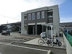 愛知県稲沢市下津鞍掛町の賃貸アパートの外観