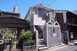 奈良県奈良市花園町の賃貸アパートの外観