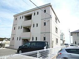 静岡県磐田市新貝の賃貸マンションの外観