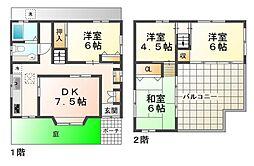 [一戸建] 兵庫県神戸市垂水区塩屋町3丁目 の賃貸【/】の間取り