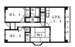 プレミール28[303号室号室]の間取り