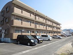 鹿児島県霧島市国分松木東の賃貸マンションの外観