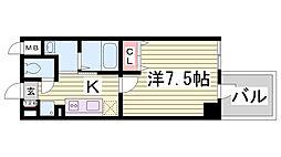 PRIMAVERA KOBE[5階]の間取り
