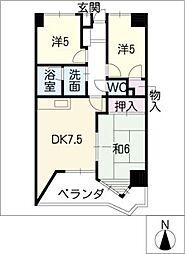 センチュリーコート[3階]の間取り
