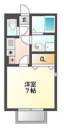 4CABINS[2階]の間取り