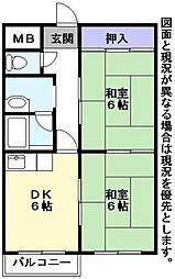 サングリーン小鳥ヶ原[2階]の間取り