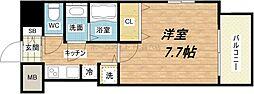 S-RESIDENCE緑橋駅前[7階]の間取り