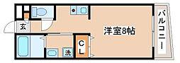 兵庫県神戸市須磨区妙法寺字池ノ中の賃貸アパートの間取り