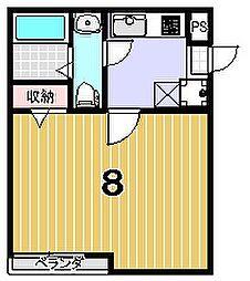 リエール円町[2階]の間取り