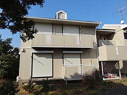 カーサアグアA棟[1階]の外観