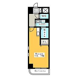 ハイライフ II[3階]の間取り