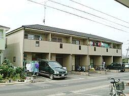 千葉県流山市西初石の賃貸アパートの外観