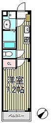 アンプルールフェール大船[2階]の間取り