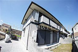 兵庫県姫路市網干区高田の賃貸アパートの外観