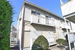 東京都葛飾区東金町8丁目の賃貸アパートの外観