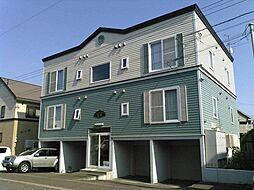 北海道札幌市手稲区星置一条7丁目の賃貸アパートの外観