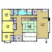 使いやすい4LDK平家住宅です。水回りは全て新品交換するので安心ですね。