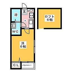 Stage千代II[2階]の間取り
