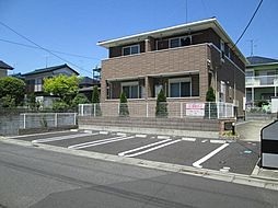 茨城県取手市戸頭8の賃貸アパートの外観