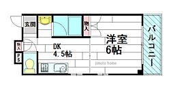 メゾンダイコー舟木[5階]の間取り