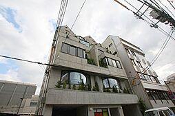 岡山県岡山市北区天神町の賃貸マンションの外観