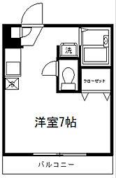 ジュネス岩井[302号室]の間取り