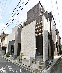 愛知県名古屋市東区筒井3丁目の賃貸アパートの外観