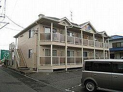 岡山県岡山市北区下伊福西町の賃貸アパートの外観