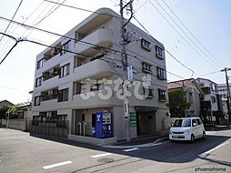 千葉県市川市関ケ島の賃貸マンションの外観