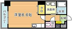 アピアランス南小倉[205号室]の間取り