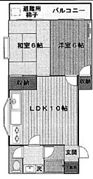 トーマズガーデン[3階]の間取り