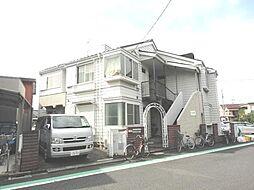 東京都葛飾区高砂7丁目の賃貸アパートの外観