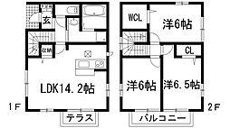 [一戸建] 兵庫県川西市加茂2丁目 の賃貸【/】の間取り