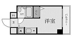 ジョイフル日野[7階]の間取り