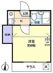 Sun Garden壱番館[1階]の間取り