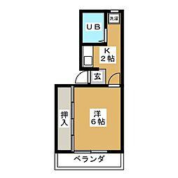 エトワールシャトー[2階]の間取り