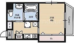 エクセレント都島ノースコート[3階]の間取り