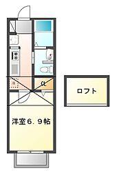 セナリオフォルム幕張本郷I[2階]の間取り