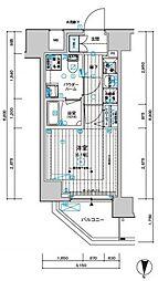 メインステージ千住中居町[3階]の間取り