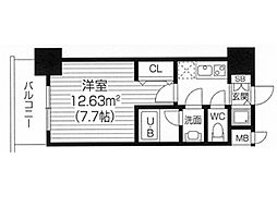 S−RESIDENCE福島Luxe[0808号室]の間取り
