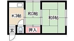 中村公園駅 2.3万円