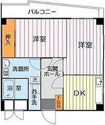 大藤ビル[2階]の間取り