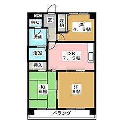 セレクト24[3階]の間取り