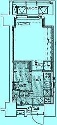 ミュージション溝の口[4階]の間取り
