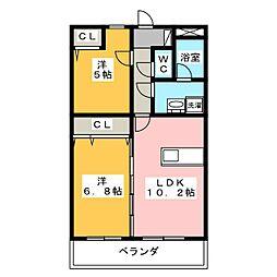 SuccessII[4階]の間取り