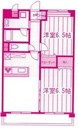 La gracieuse[2階]の間取り