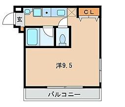 ダレッチェン[1階]の間取り