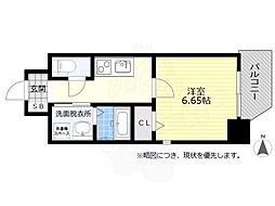 名鉄名古屋本線 金山駅 徒歩8分の賃貸マンション 10階1Kの間取り