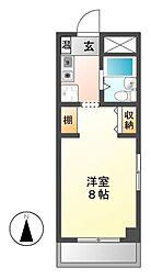 BELLE TOPIA稲沢 II[2階]の間取り